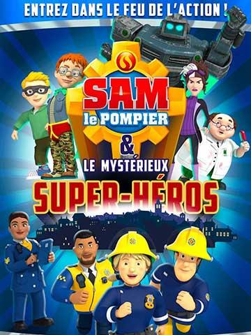 Sam le pompier et le mystérieux super-héros - Cinéma Les etoiles -Bruay La Buissière